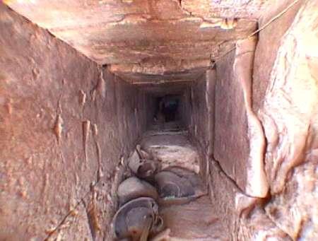 the bent pyramid of dahshur explore the interior