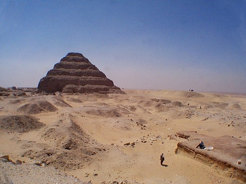 Guardian's Saqqara - The Step Pyramid