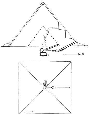 The Pyramid Of Menkaure Menkaure Is Divine Original Height - Current height